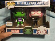 Funko Pop Barnes & Noble exclusive She Hulk & Spider Gwen 2 pack MIMP
