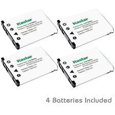 Kastar 42B Battery for OlympusFE-320 FE-330 FE-340 FE-350 FE-360 FE-3000 FE-3010