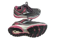 Brooks Glycerin 10 Womens US 7.5 EUR 38.5 Silver Pink Running Shoes