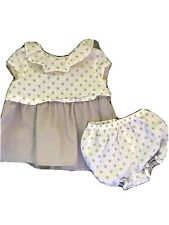 Dylan & Abby Dress With Bloomers infant girl clothes 3-6 months