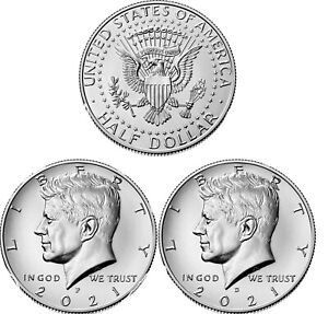 2021 P & D Kennedy Half Dollar Pre-Sale May 11th