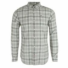 Tommy Hilfiger Men's Cotton Long Sleeve Collared Casual Shirts & Tops