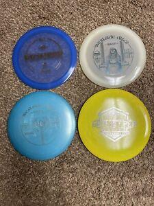 3-used westside discs and 1-latitude 64