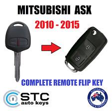 suits MITSUBISHI ASX 2010 - 2015  COMPLETE REMOTE FLIP TRANSPONDER CHIP KEY