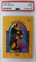 1996 96 UD3 HARDWOOD PROSPECTS Kobe Bryant Rookie RC #19, Graded PSA 9 Mint !