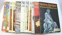 1970 Stereo Review Full Set Minus June Issue VSM#11