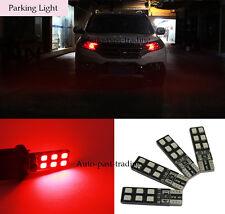 4x Red LED Error Free Eyebrow Eyelid Light For Mercedes Benz W204 C300 C350