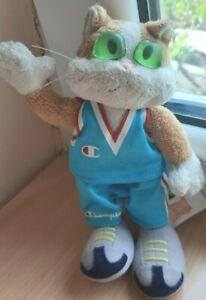 Eurobasket Belgrade 2005 Mascot Soft Plush toy cat Fiba Championship basketball