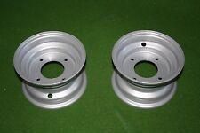 2 Felgen 3.50x6 (4-Loch) für 13x5.00-6 Reifen für Rasentraktorennen, Umbauten