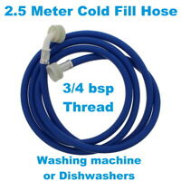 Lg universel machine à laver inlet froid fill bleu tuyau 2.5m long