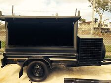 NEW STANDARD H/DUTY BUILDERS TRAILER / LADDER RACK / OPTIONS AVAILABLE