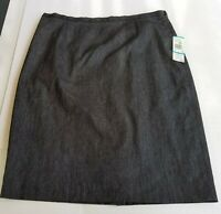 NWT ANNE KLEIN Womens Lined Palm Beach $225 Straight Pencil Skirt Size 16