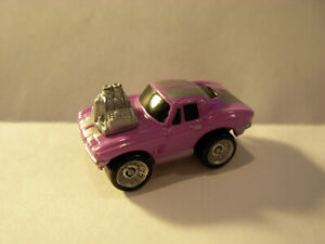 VINTAGE MICRO MACHINES 64 CHEVY CORVETTE WITH BLOWN ENGINE