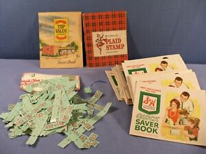 Huge Lot of S&H Plus Others Green Stamps & Books - Over 30 Books Tons of Stamps