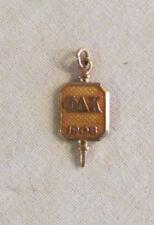 Fraternity Pin Rare Old Original Nice 1906 Phi Delta Kappa 10k Yellow Gold