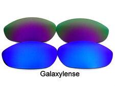 Galaxie Verres De Rechange Pour Oakley Monster Chien bleu et violet 100%UVAB