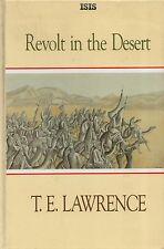 "T.E.LAWRENCE - ""REVOLT IN THE DESERT"" -  LARGE PRINT EDITION - HARDBACK (1990)"