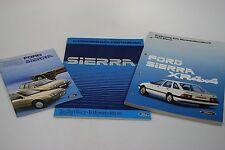 Ford Sierra XR4x4 Werkstatthandbuch Ergänzung+Techniker-Information+Anleitung