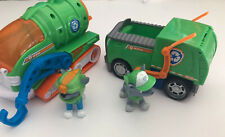 Paw Patrol 2 Vehicle lot with 2 Rocky Figure