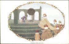 H Willebeek Le Mair I Had a Little Nut Tree LITTLE SONGS of LONG AGO Postcard