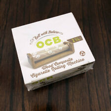 SEALED BOX of 6 OCB WOOD 1 1/4 Cigarette Rolling Machine | RYO | Raw