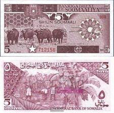 Somalië 31b ongecirculeerd 1986 5 Shilling Büffel