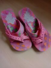 Girls Skechers Twinkle Toes Summer Wedge Sandals Size 4 UK