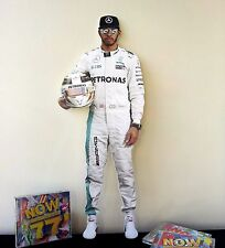Lewis Hamilton Display Stand NEW Mercedes F1 Formula 1 Silverstone British