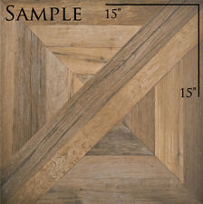 """SAMPLE of 30"""" x 30"""" REFIN Ceramiche MANSION ARCADE Floor Tile Made in Italy"""