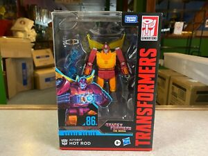 Transformers 1986 The Movie Studio Series Voyager Class NIP 04 Autobot HOT ROD