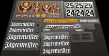 Vintage Jagermeister Reproduction Decal Sheet 1:12