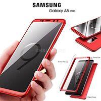 Coque pour Samsung Galaxy A8 2018 Avant Arrière 360° Original Protection Totale
