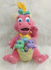 Playskool Dragon Tales Cassie Babysitting Surprise Stuffed Plush Siblings PBS