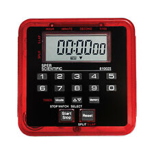 Timer & Stopwatch with Magnetic and Clip - Count Up Count Down - 100 Hrs #810025