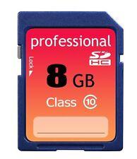 Brand New 8GB Class 10 SD HC (SDHC) High Speed Professional Flash Memory Card 8G
