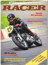 Classic Racer Winter 1985 Marsh MV 500 Linto Jawa Honda RC162 Anderson Swallow