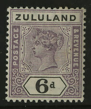 Zululand   1894-96    Scott #19   Mint Very Lightly Hinged Condition