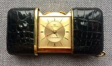 1950's/60's Vintage Movado Ermeto Ermetophon Travel Alarm Purse Watch
