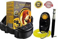 Dog Training Collar Remote Electric Shock Kit For Large Small Dogs Big Pet Bark