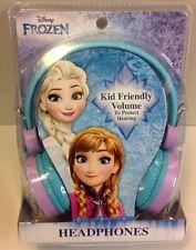 New Disney Princess Frozen  Headphones Anna Elsa Kid Friendly Volume