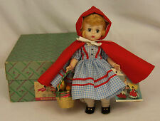 "Madame Alexander Kins RED RIDING HOOD #782 BENT KNEE 8"" Wendy Doll MINT in BOX"