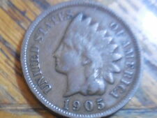 Nice 1905 Indian Head Cent Free Shipping !