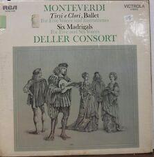 Monteverdi Tirsi e Clori & Six Madrigals 33RPM VICS1438  121816LLE