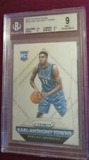 2015-2016 PANINI PRIZM KARL ANTHONY TOWNS RC #328 BGS 9 MINT ROOKIE Wolves PSA