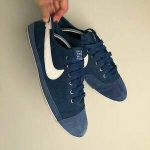 Nike Flash 'Your Time Will Come' Blue Trainers Plimsolls Daps Size UK 11.5