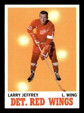 LARRY JEFFREY  70-71 TOPPS 1970-71 NO 28 EXMINT+  20011