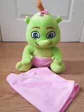 """Shrek Baby Ogre Girl Plush Soft Toy Dreamworks Shrek's Adventure 10"""""""