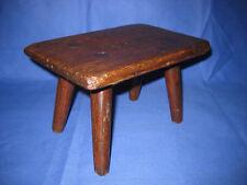 Welsh Antique 19th Century Oak Child's Stool
