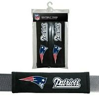New England Patriots Seat Belt Pads Velour