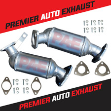 FITS: 2007-2017 GMC ACADIA 3.6L CATALYTIC CONVERTER BANK 1 & 2 WITH GASKETS
